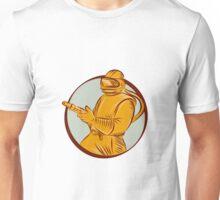 Sandblaster Sandblasting Hose Circle Etching Unisex T-Shirt