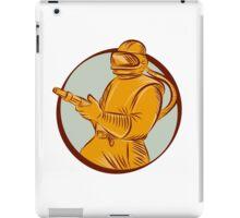 Sandblaster Sandblasting Hose Circle Etching iPad Case/Skin