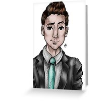 Suit and Tie Greeting Card