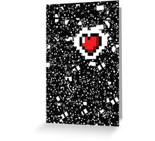 A Gamer's Heart! Greeting Card