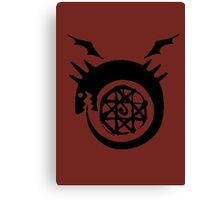 Bloodseal In The Ouroboros! Canvas Print