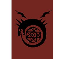 Bloodseal In The Ouroboros! Photographic Print