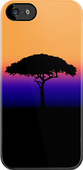 Solitary [Print and iPhone / iPad / iPod Case] by Damienne Bingham