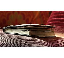 27.7.2012: Old, Abandoned Book Photographic Print