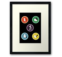 Pokemon Phone Case Framed Print