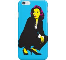 Scully x files iPhone Case/Skin