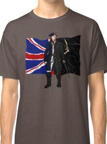 Lietenant McGraw and Captain Flint - Black Sails Classic T-Shirt