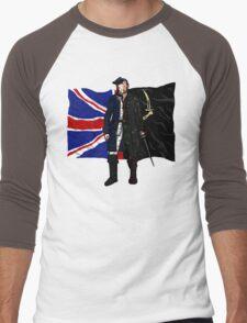 Lietenant McGraw and Captain Flint - Black Sails Men's Baseball ¾ T-Shirt