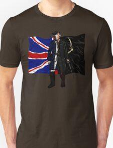 Lietenant McGraw and Captain Flint - Black Sails Unisex T-Shirt