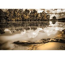 Riverbank Photographic Print