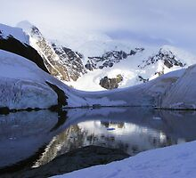 Antarctic Bay of Paradise  by Rob Goforth