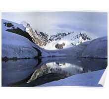 Antarctic Bay of Paradise  Poster