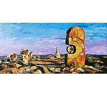 Sculptures - Pallet Knife Photographic Print