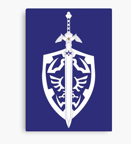 Sword & Shield Canvas Print