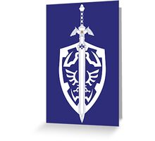 Sword & Shield Greeting Card