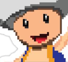 Pixel Toad Sticker