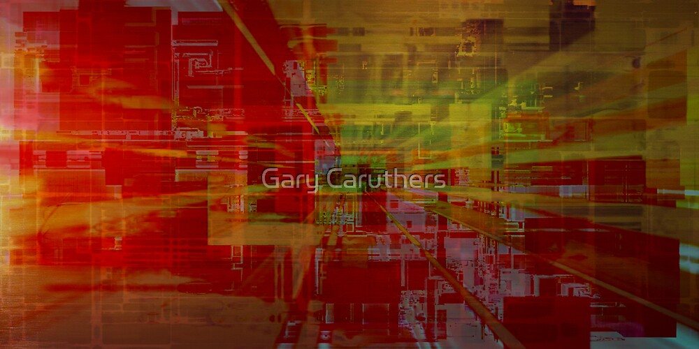Interchangeable Streaming Version 3 by Gary Caruthers