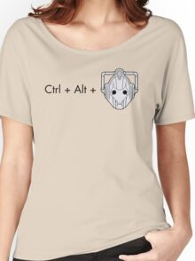 Ctrl + Alt + DELETE Women's Relaxed Fit T-Shirt