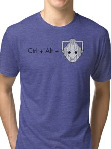 Ctrl + Alt + DELETE Tri-blend T-Shirt