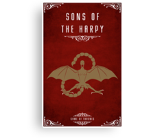 The Sons Of The Harpy Canvas Print