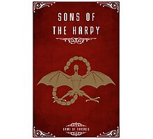 The Sons Of The Harpy Photographic Print