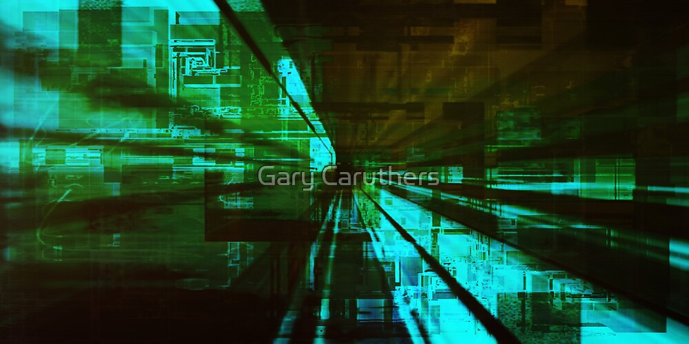 Interchangeable Streaming Version 4 by Gary Caruthers