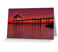 """Townsville Morning Twilight"" Greeting Card"