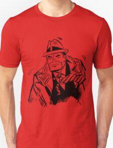 Dick tracy in B/W Unisex T-Shirt