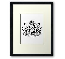 Keep it on the Dean-Low Framed Print