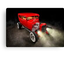 Rick Conway's 1928 Ford Hotrod Canvas Print