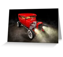 Rick Conway's 1928 Ford Hotrod Greeting Card