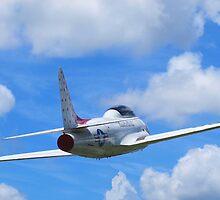 Faux Flight - Shooting Star by Glenn Cecero