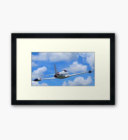Faux Flight - Shooting Star Framed Print