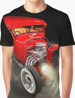 Rick Conway's 1928 Ford Hotrod Graphic T-Shirt