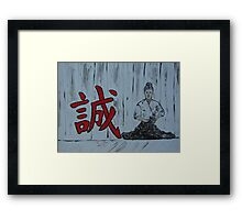 """Makato""  by Carter L. Shepard Framed Print"