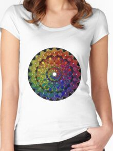 Mandala 46 T-Shirts, Hoodies and Stickers and cases - Jim Gogarty Women's Fitted Scoop T-Shirt
