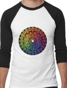 Mandala 46 T-Shirts, Hoodies and Stickers and cases - Jim Gogarty Men's Baseball ¾ T-Shirt