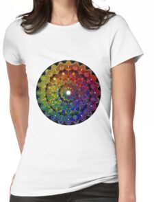 Mandala 46 T-Shirts, Hoodies and Stickers and cases - Jim Gogarty Womens Fitted T-Shirt