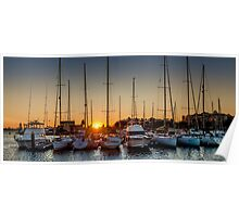 Harbour Morning 2 Poster