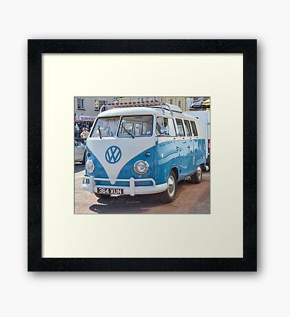Smart V W Camper Framed Print