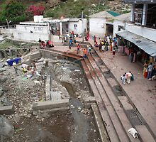 Part of the under-construction zone at the Indian religious town of Katra  by ashishagarwal74