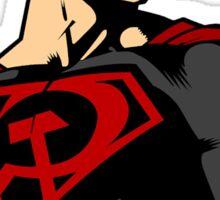 Superman Red Son Sticker