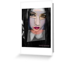 another grey area II Greeting Card