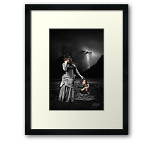 another grey area III Framed Print