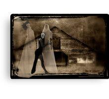 Danse Macabre in Sepia Canvas Print