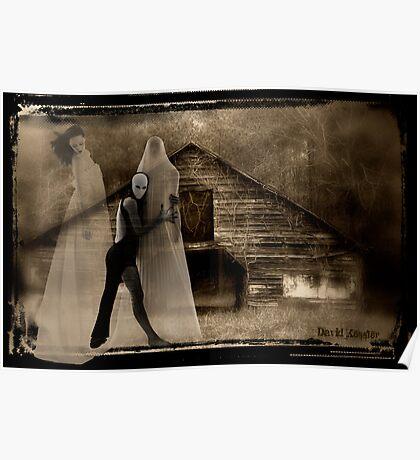 Danse Macabre in Sepia Poster