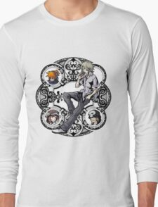 Kingdom Hearts: Dream Drop Distance TWEWY Circle Long Sleeve T-Shirt