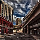 Detroit People Mover by Tina Logan
