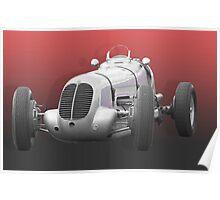 Maserati F1 racing car. Poster