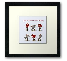 How To Dance With Style In 6 Steps Framed Print